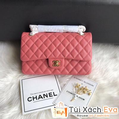 Túi Xách Chanel Classic Siêu Cấp Màu Hồng