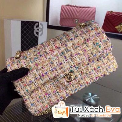 Túi Xách Chanel Classic Vải Siêu Cấp