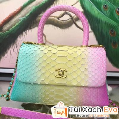 Túi Xách Chanel Coco Siêu Cấp Da Rắn Ba Màu