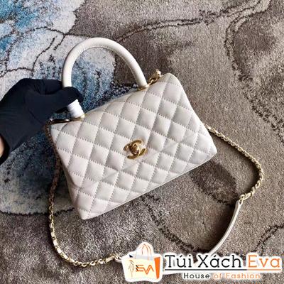 Túi Xách Chanel Coco Siêu Cấp Màu Trắng