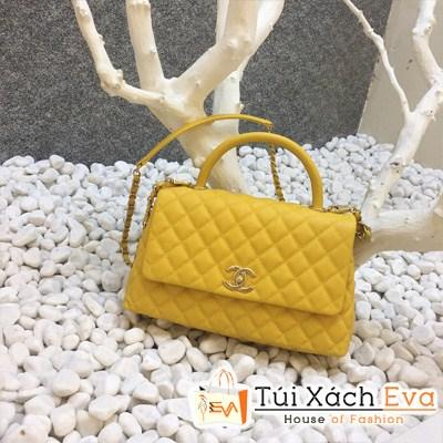 Túi Xách Chanel Coco Siêu Cấp Màu Vàng