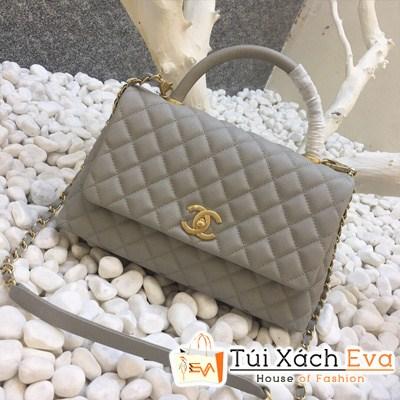 Túi Xách Chanel Coco Siêu Cấp Màu Xám