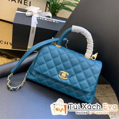 Túi Xách Chanel Coco Siêu Cấp Màu Xanh