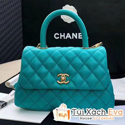 Túi Xách Chanel Coco Siêu Cấp Màu Xanh Dương
