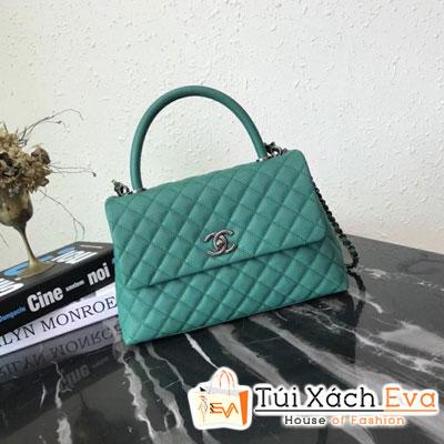 Túi Xách Chanel Coco Siêu Cấp Màu Xanh Lá