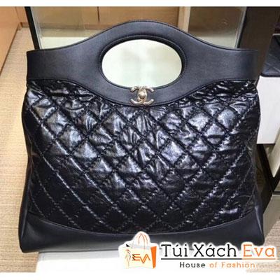 Túi Xách Chanel Crumpled Calfskin  31 Siêu Cấp Màu Đen a57977
