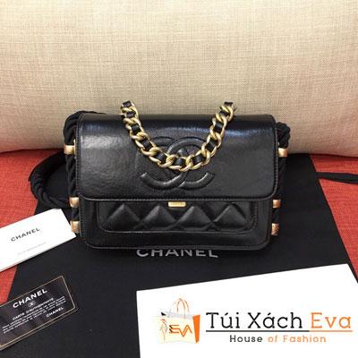 Túi Xách Chanel Flap Bag Siêu Cấp Màu Đen AS0074
