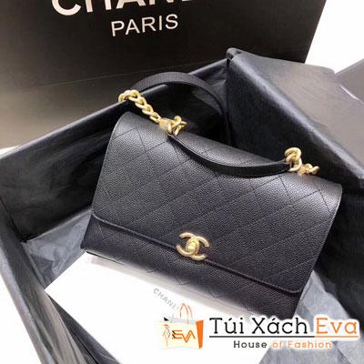 Túi Xách Chanel Flap Bag Siêu Cấp Màu Đen AS0305