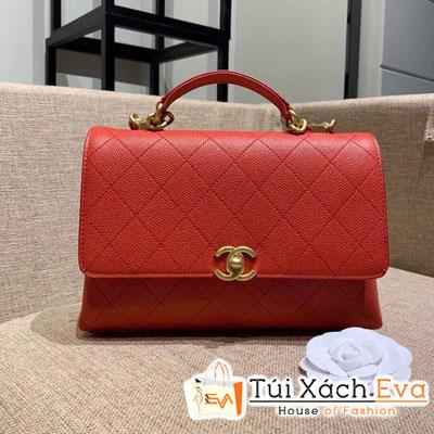 Túi Xách Chanel Flap Bag Siêu Cấp Màu Đỏ AS0305