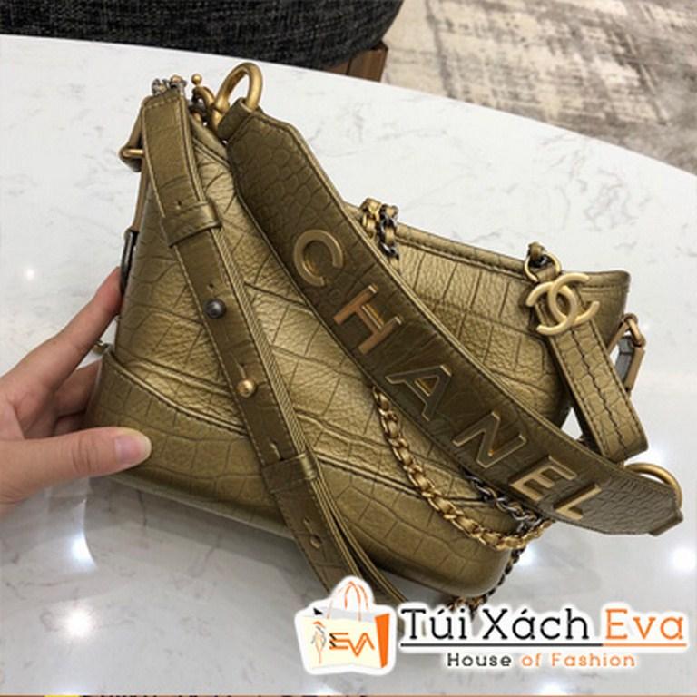Túi Xách Chanel Gabrielle Hobo Màu Vàng Đồng