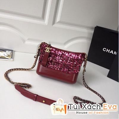 Túi Xách Chanel Gabrielle Small Hobo Bag Siêu Cấp Màu Đỏ