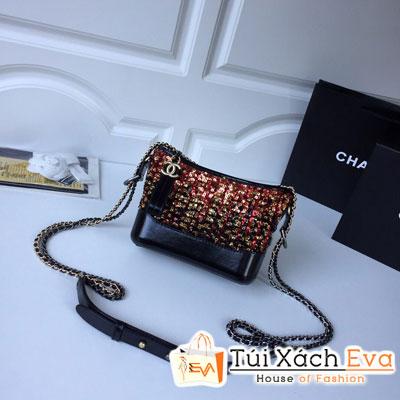 Túi Xách Chanel Gabrielle Small Hobo Bag Siêu Cấp Màu Đỏ Vàng