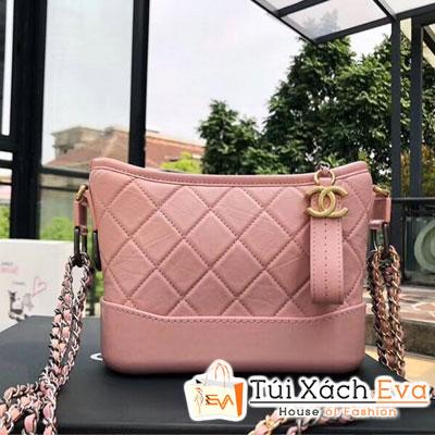 Túi Xách Chanel Gabrielle Small Hobo Bag Siêu Cấp Màu Hồng A91810