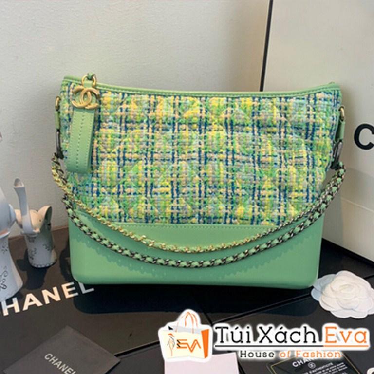 Túi Xách Chanel Gabrielle Small Hobo Bag Siêu Cấp Màu Xanh