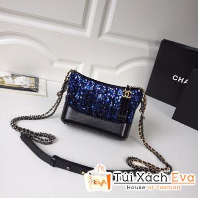Túi Xách Chanel Gabrielle Small Hobo Bag Siêu Cấp Màu Xanh Dương