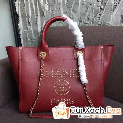 Túi Xách Chanel Grained Calfskin & Gold-Tone Siêu Cấp Màu Đỏ  A57069