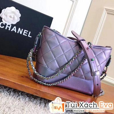 Túi Xách Chanel Hobo 2017 Siêu Cấp Màu Galaxy