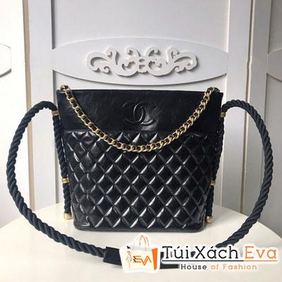 Túi Xách Chanel Hobo Handbag Siêu Cấp Màu Đen Y84100