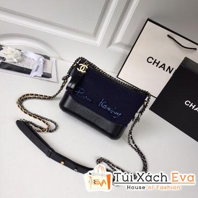 Túi Xách Chanel Hobo Siêu Cấp Màu Xanh Dương Đậm