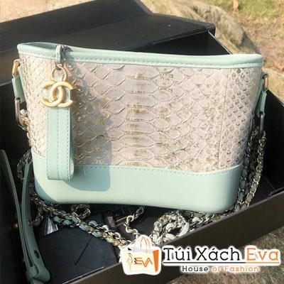 Túi Xách Chanel Hobo Super Xanh Ngọc