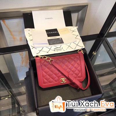 Túi Xách Chanel Katun Siêu Cấp Màu Đỏ