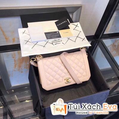 Túi Xách Chanel Katun Siêu Cấp Màu Hồng Nhạt