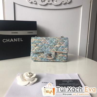 Túi Xách Chanel classic Len Siêu Cấp