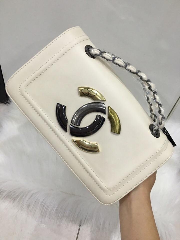 Túi Xách Chanel Logo 24 cm Đẹp