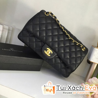 Túi xách Chanel Maxi F1 Size 28 cm Màu Đen Đẹp
