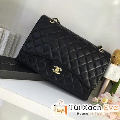Túi Xách Chanel Maxi Size 33 Cm Màu Đen Đẹp