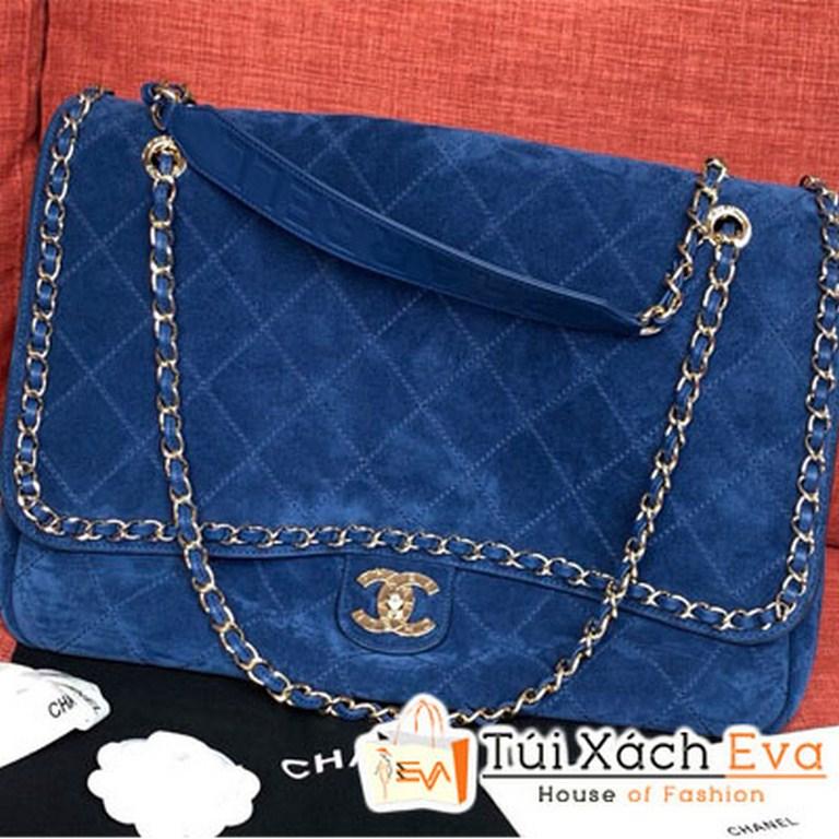 Túi Xách Chanel Pharrel Màu Xanh Dương