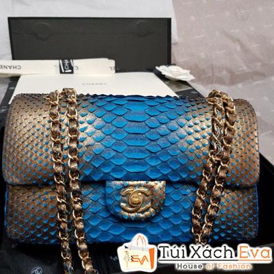 Túi Xách Chanel classic da Rắn Siêu Cấp