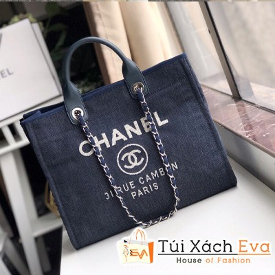 Túi Xách Chanel Shoping Siêu Cấp Màu Đen