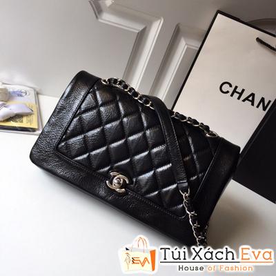 Túi Xách Chanel Siêu Cấp Da Lì Màu Đen