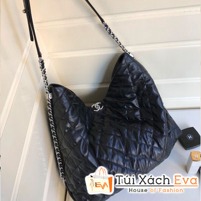 Túi Xách Chanel Siêu Cấp Da Trâu Màu Đen