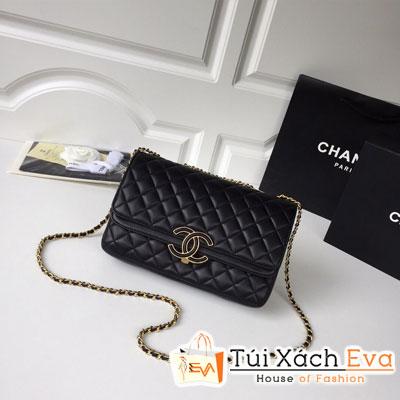 Túi Xách Chanel Siêu Cấp  Màu Đen Da Lì