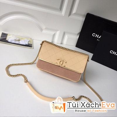 Túi Xách Chanel Siêu Cấp Màu Nâu