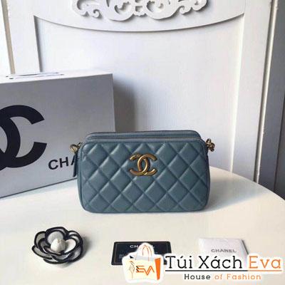 Túi Xách Chanel Siêu Cấp Màu Xanh
