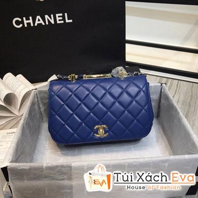 Túi Xách Chanel Siêu Cấp Màu Xanh Dương Đậm