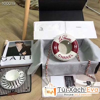 Túi Xách Chanel Siêu Cấp Tròn Màu Đỏ