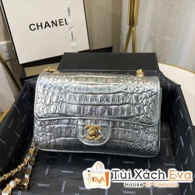 Túi Xách Chanel Small Classic Handbag Siêu Cấp Màu Bạc