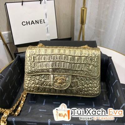 Túi Xách Chanel Small Classic Handbag Siêu Cấp Màu Vàng