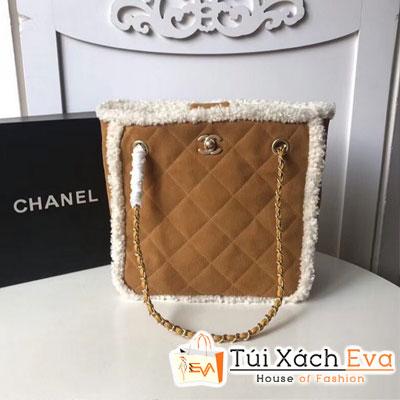 Túi Xách Chanel Small Shopping Bag Màu Nâu  A57738