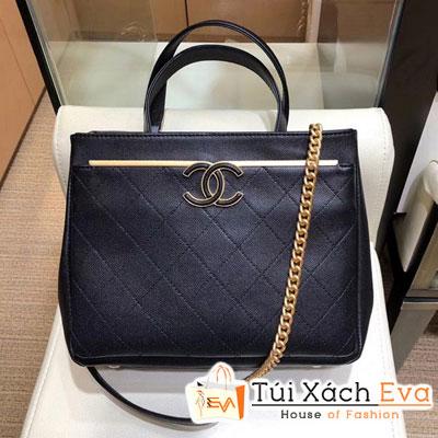 Túi Xách Chanel Small Shopping Bag Siêu Cấp Màu Đen  A57563