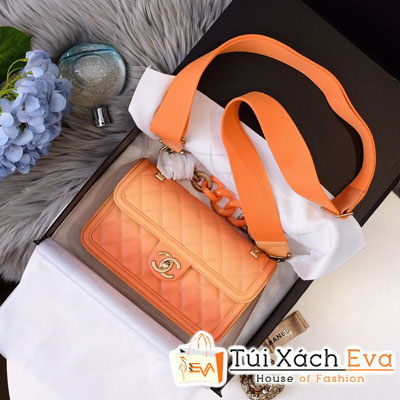 Túi Xách Chanel Sunset On The Sea Bag Siêu Cấp Màu Cam AS0062