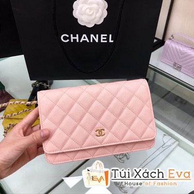 Túi Xách Chanel Woc Siêu Cấp Màu Hồng