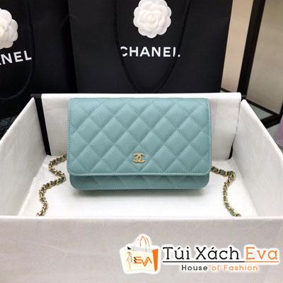 Túi Xách Chanel Woc Siêu Cấp Màu Xanh Dương