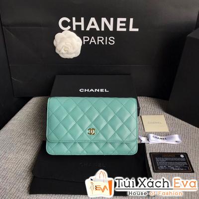 Túi Xách Chanel Woc Siêu Cấp Màu Xanh Ngọc