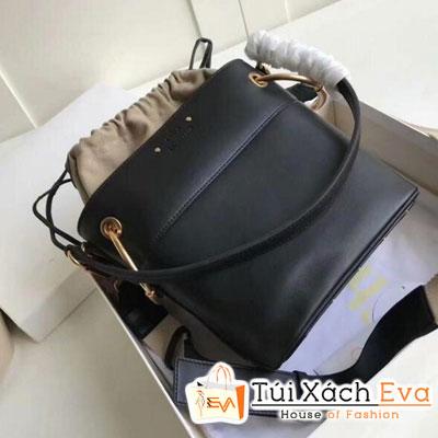 Túi Xách Chloe ROY BUCKET Siêu Cấp Màu Đen