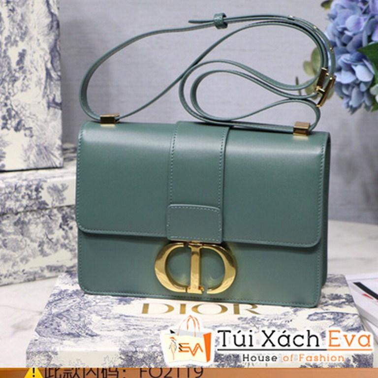 Túi Xách Dior 30 Montaigne Siêu Cấp Màu Xanh